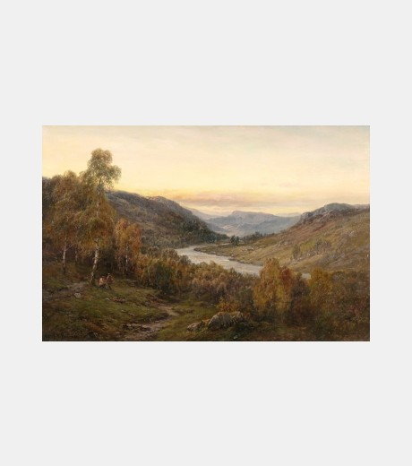 Alfred de Breanski - Valley of Teith