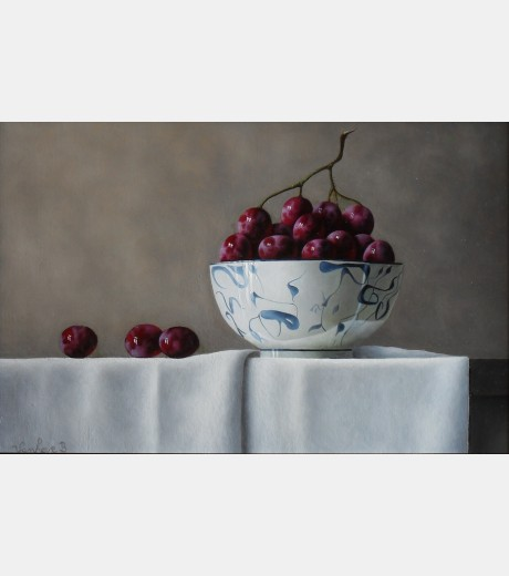 Barbara Vanhove - Grapes & Porcelain