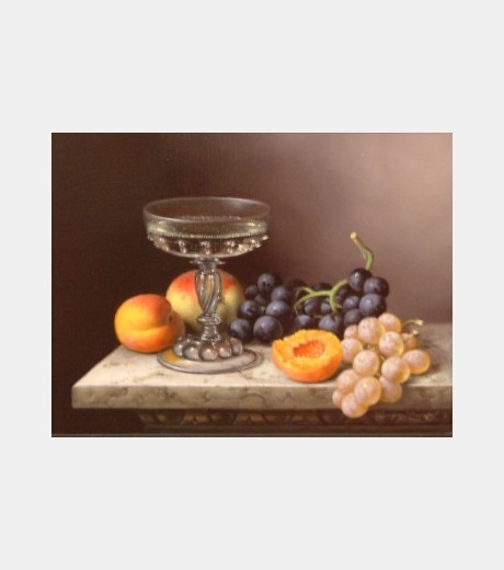 Brian Davies - Fruit on Marble Table