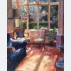 Bruce Yardley - Spring Sun in the Drawing Room