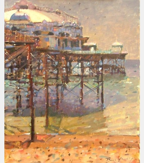 Bruce Yardley - West Pier, Low Tide