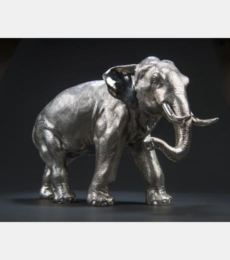 Contemporary Silver - Large Elephant.