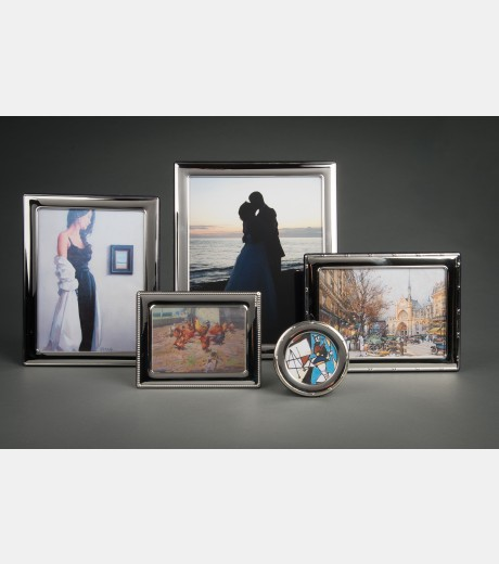 Contemporary Silver - Silver Photo Frames