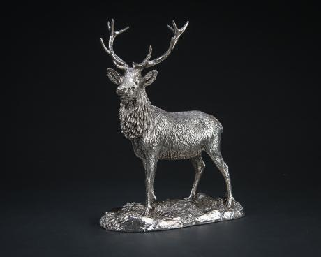 Contemporary Silver - Stag