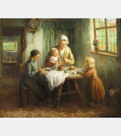 Cornelius Bouter - Feeding the Children
