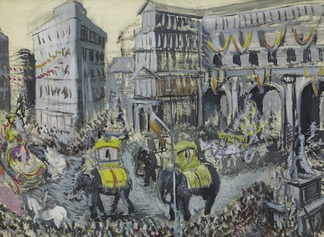 Dame Laura Knight - Circus Town