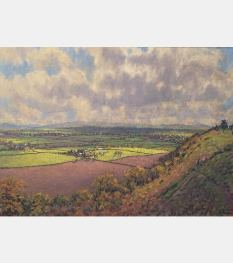 David Fowles - The Long Mynd from Lyth Hill