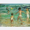 Dorothea Sharp - Children on a Cornish Beach