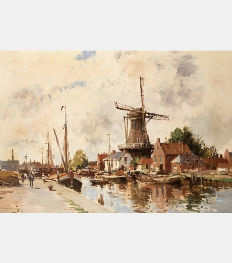 Edward Seago - Alphen, Holland