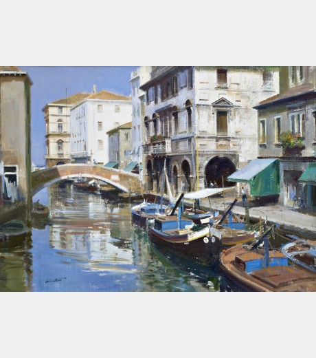 Frank Wootton - Chioggia, Italy
