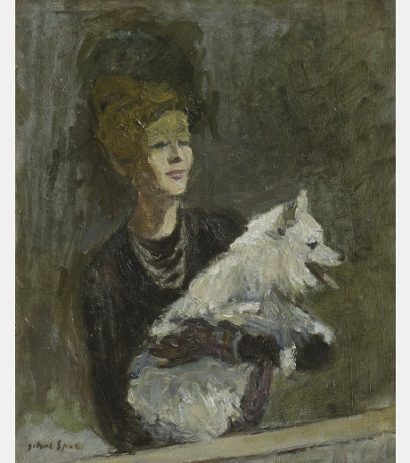 Gabriele Spat - Elegant Lady and her Companion