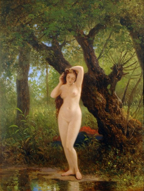 Georg Eduard Otto Saal - Before Bathing
