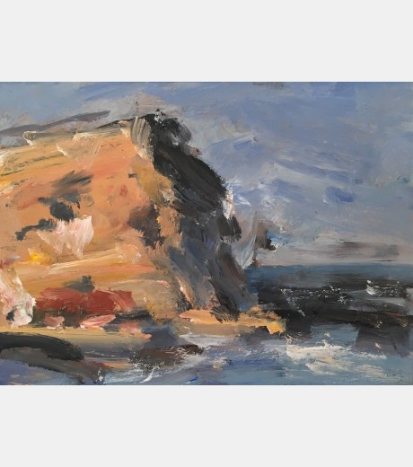 Ghislaine Howard - Cliffs at Staithes