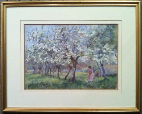 Harold Gresley - Feeding in the Orchard