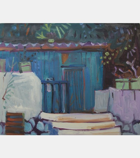 Jenny Wheatley - Blue Hut Loutro