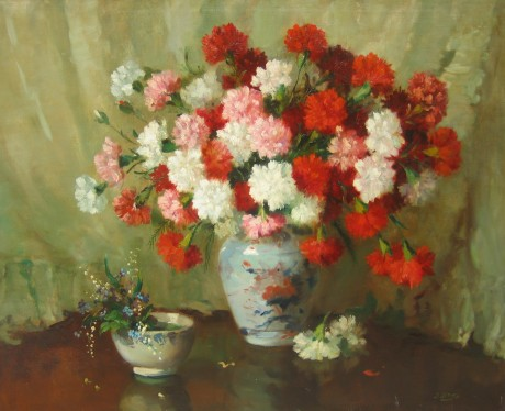 Jules Le Roy - Carnations
