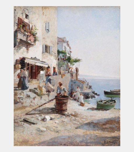 Leo Van Littrow - A Sunny Day on The Amalfi Coast