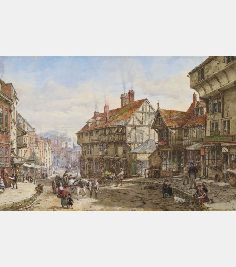 Louise Ingram Rayner - Wyle Cop, Shrewsbury