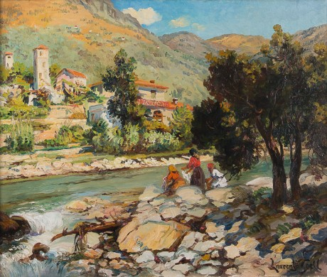 Lucien Laurent Gsell - Afternoon Provence