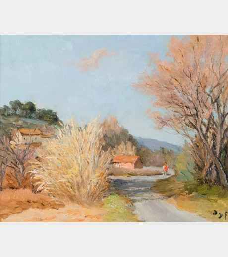 Marcel Dyf - Afternoon Provence