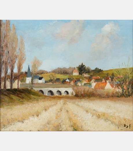 Marcel Dyf - Cornfields L'indres