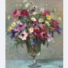 Marcel Dyf - Daisies and Anemones