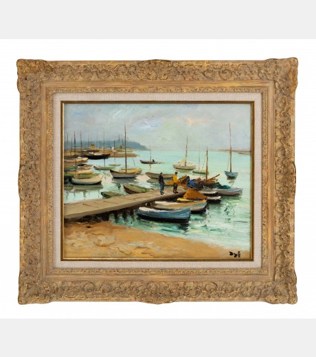 Marcel Dyf - Le Port Cannes