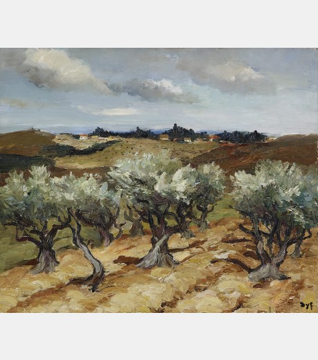 Marcel Dyf - Olives in Provence
