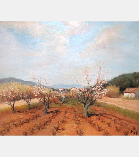 Marcel Dyf - Tendant Verger