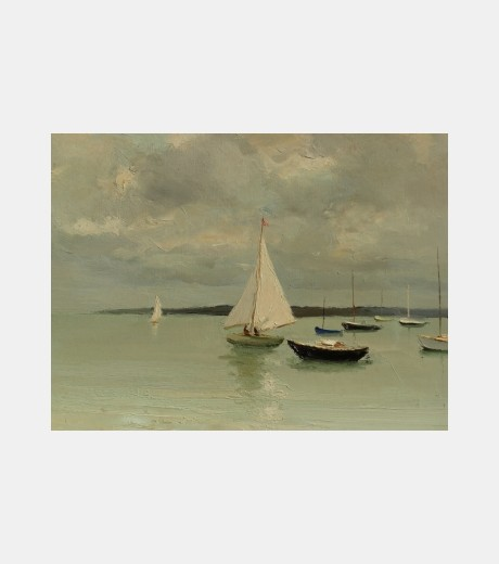 Marcel Dyf - White Sails