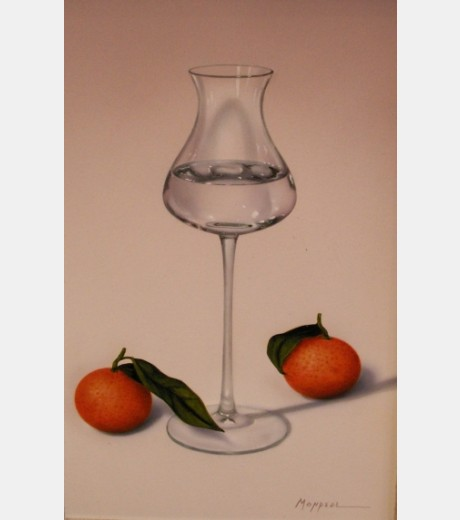 Monreal - Glass with Tangarines