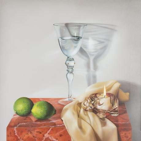 Paco Yuste - Still life with lime