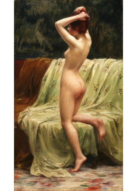 Pierre Desire Eugene Franc Lamy - Bather