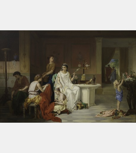 Pierre Oliver Joseph Coomans - Preparing for the Festival