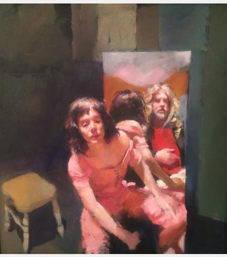 Robert O Lenkiewicz - Painter with Anna Hill Smith