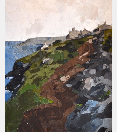 Sir Kyffin Williams - Anglesey Coastline