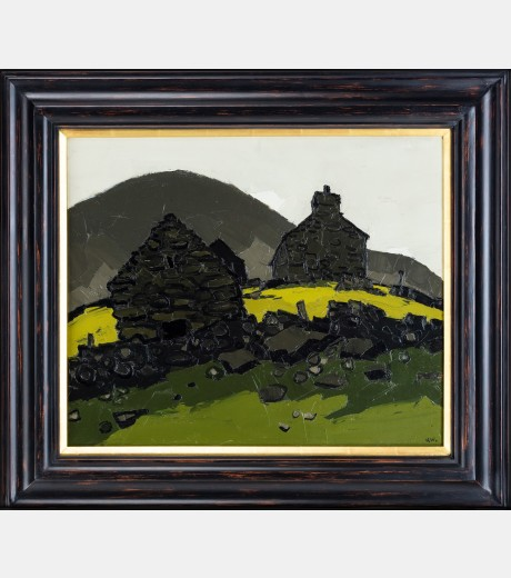 Sir Kyffin Williams - Hendre Waelod, Cwm Nantcoll
