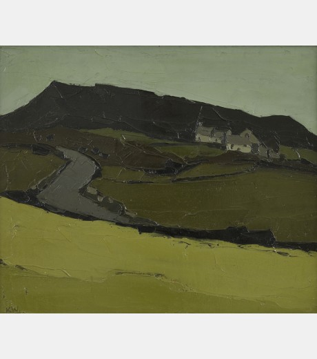Sir Kyffin Williams - Llanfihangel Tinsilwy
