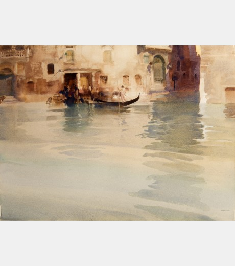 Sir William Russel Flint - Traghetto, San Stae, Venice