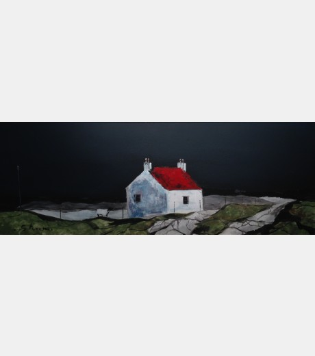 Steven - Little Red Roof with Sheep