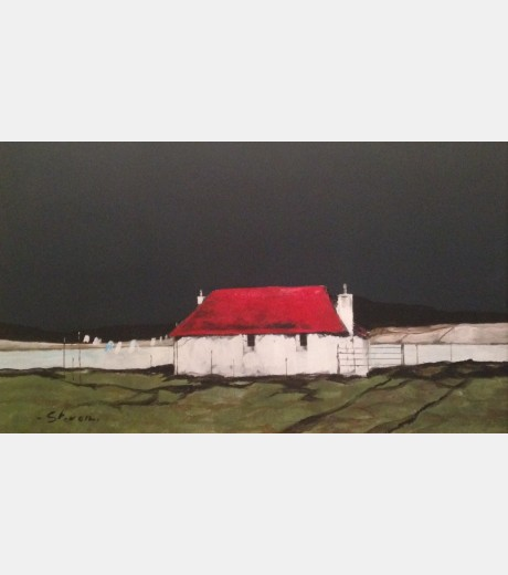 Steven - Little Red Roof with Washing Line