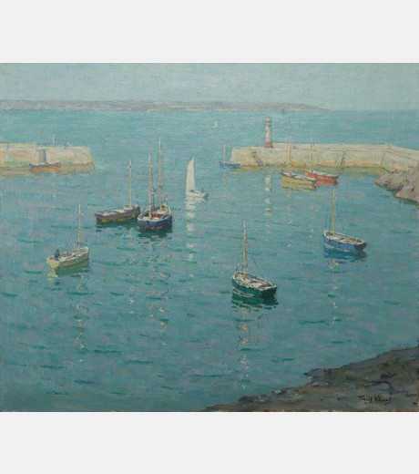 Terrick Williams - Morning light Mevagissey