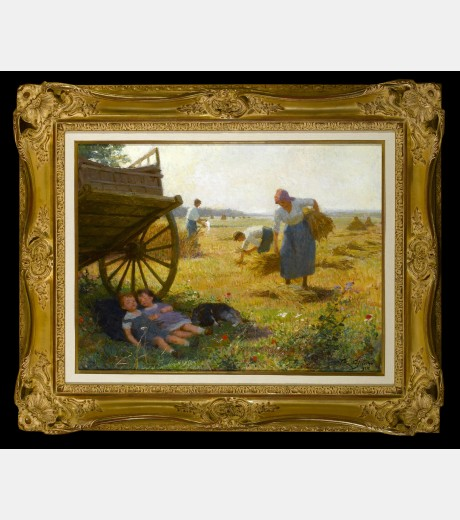 Victor Gabriel Gilbert - The Harvest
