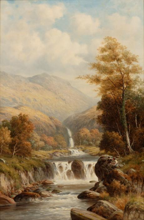 William Henry Mander - Waterfall